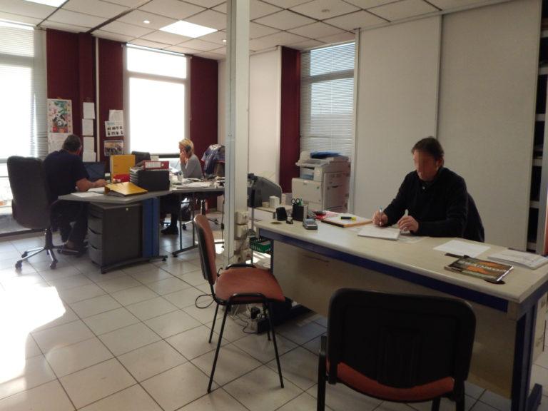 Bureau d'accueil Eurotek