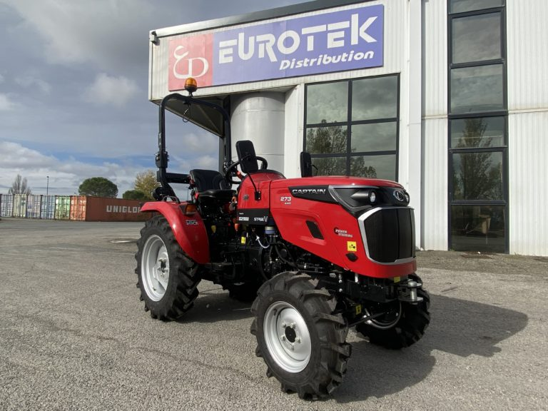 Microtracteur Captain par Eurotek
