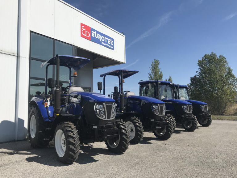 Tracteurs Lovol gamme de 25 à 50cv