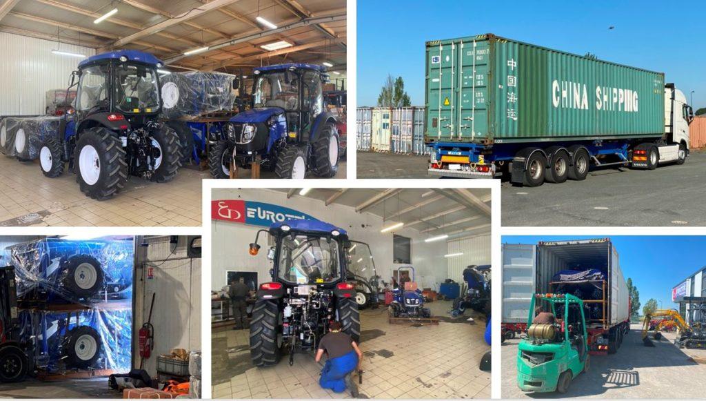 Arrivage important de tracteurs LOVOL-Eurotek