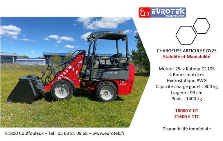 Chargeuse articulée Eurotek